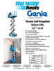 Genie Lifts Rental Rate Info